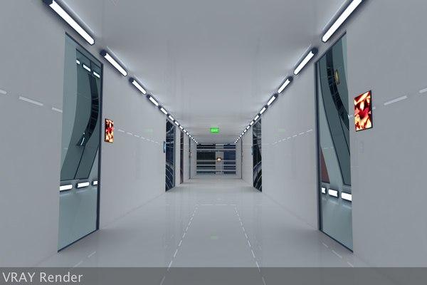 ultra modern futuristic data 3d 3ds