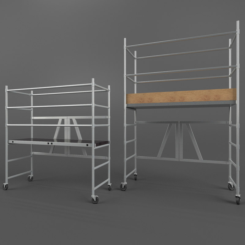 3d max scaffold towers
