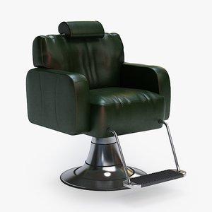 3dsmax barber chair