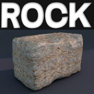 rock hd obj