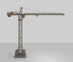 crane 3d 3ds