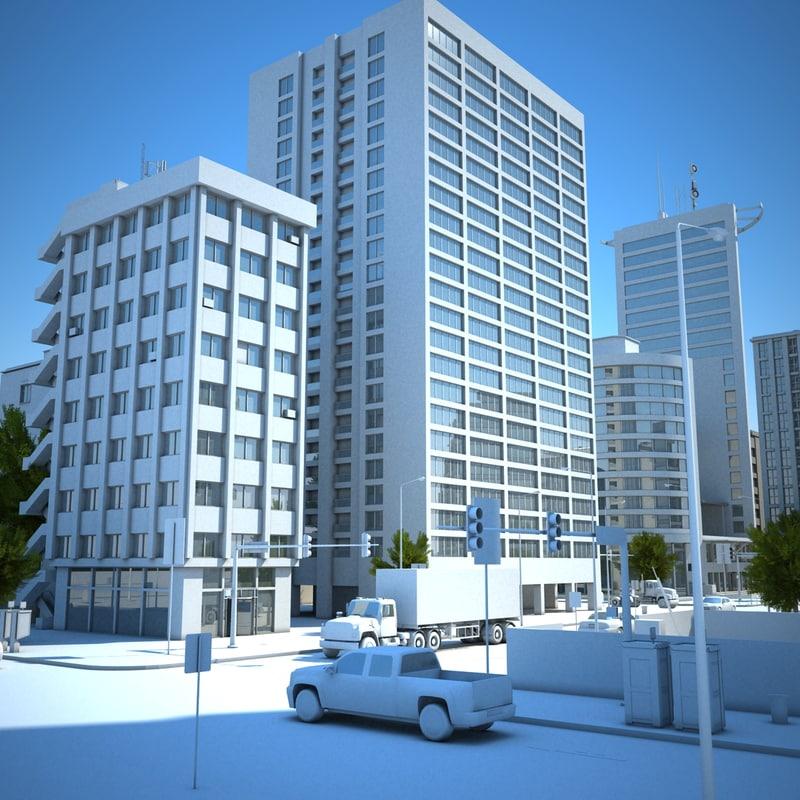 max hd city scene