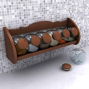 3d spice wood model