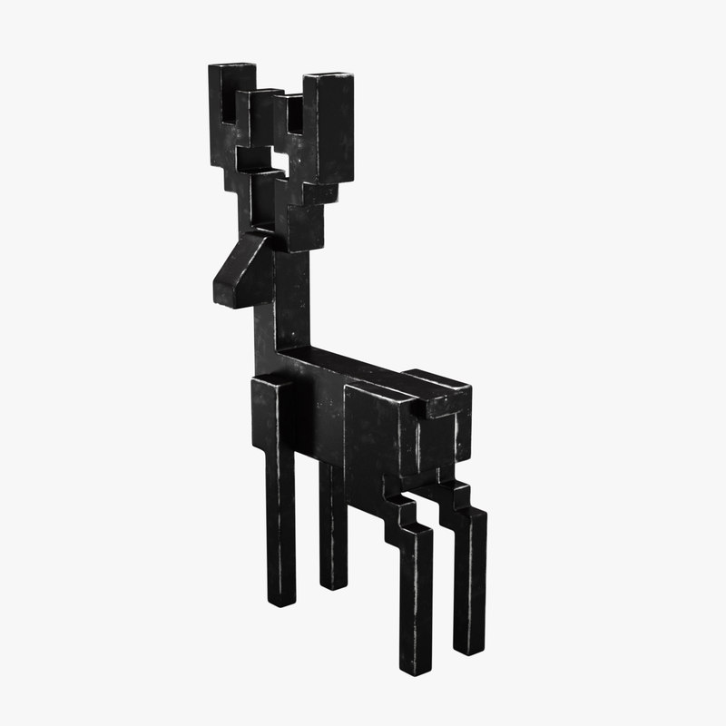 3d ikea samspelt deer model