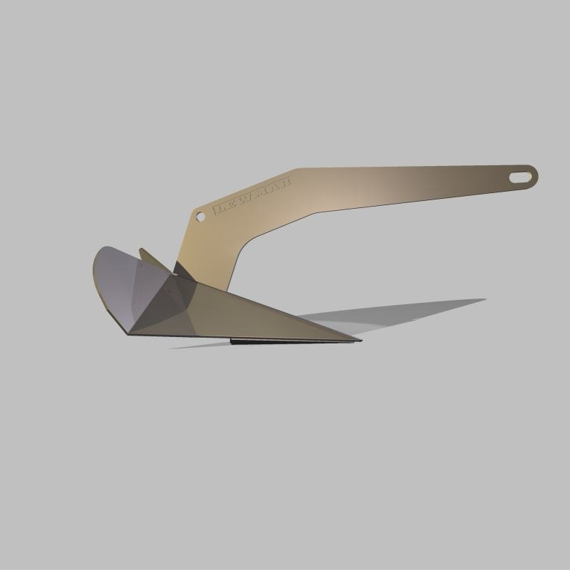 3d lewmar dtx® anchor 16 model