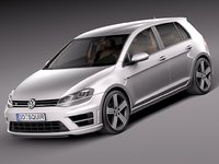 Volkswagen Golf VII R 5-door 2015