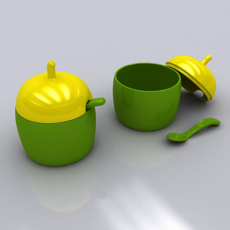 sugar bowl 3d max
