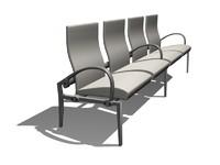 chair public 3d model