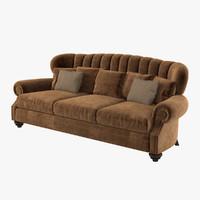 mobilidea jacqueline medea sofa 3d model