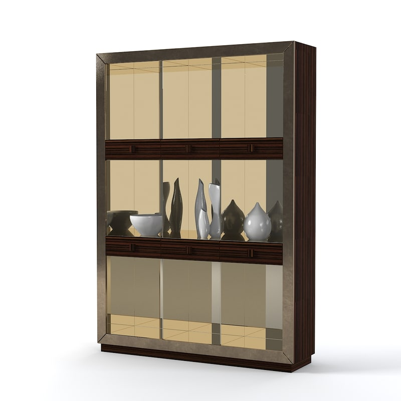3d model longhi lovelux cabinet