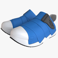 photoreal shoes fessura mummy 3d 3ds
