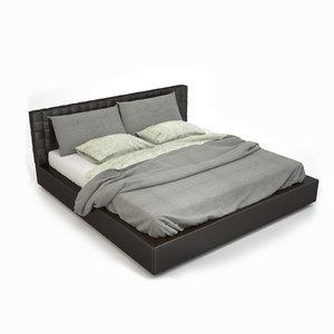 3d madison bed model