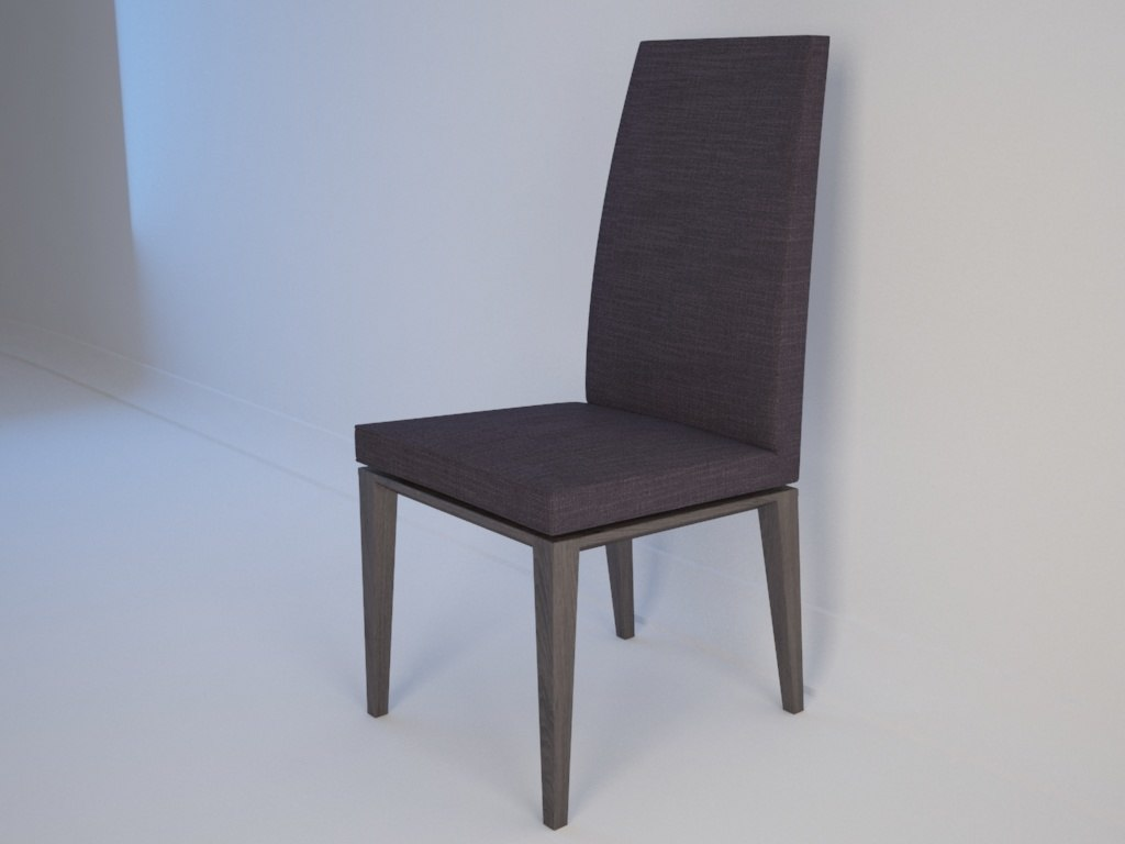 3ds max chair calligaris bess dining