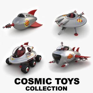cosmic toys 3d max