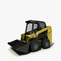 free skid-steer loader cams 650 3d model