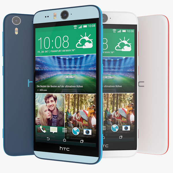 3d new htc desire eye model