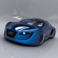3ds concept car audi rsq