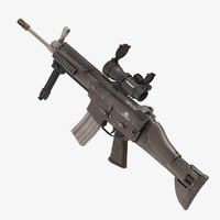 combat assault rifle fn scar max