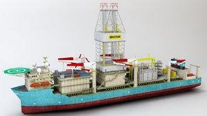drill ship max