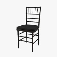 3dsmax ballroom chair