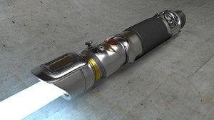 light saber 3d c4d