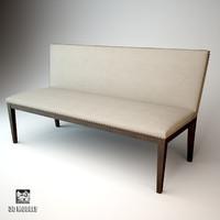 eichholtz bench marlowe 3d max