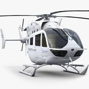 eurocopter ec 145 3d max