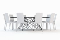 3d octa chair table