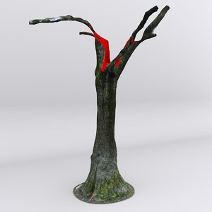 free dbuzzi scan tree trunk 3d model