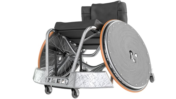max rugby wheel chair