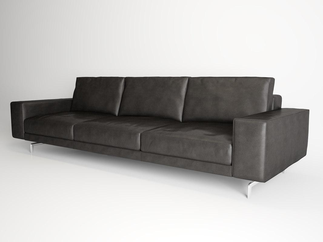 minotti sherman sofa obj