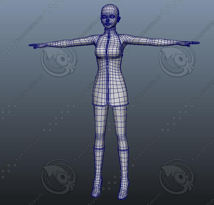 maya female
