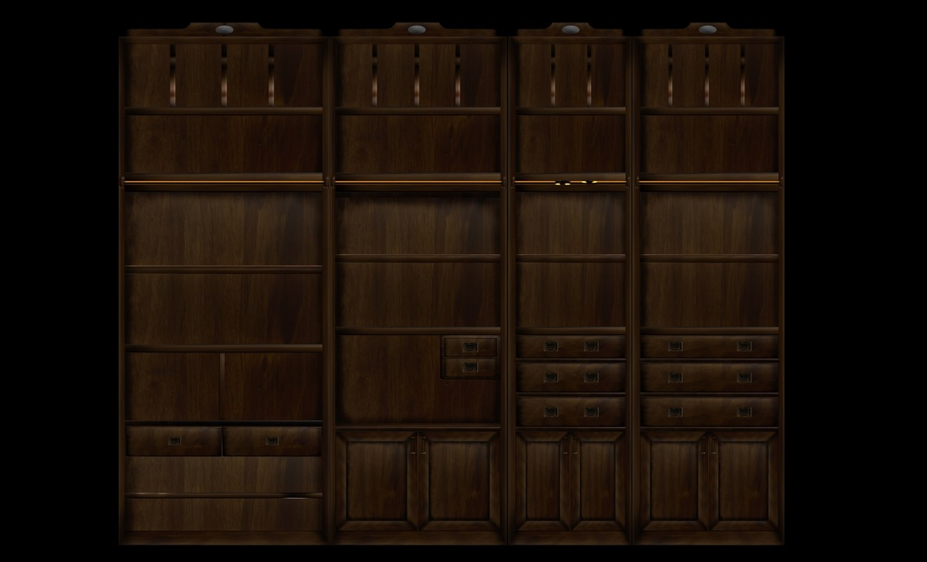wood library 3d max
