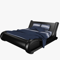 leather bed max
