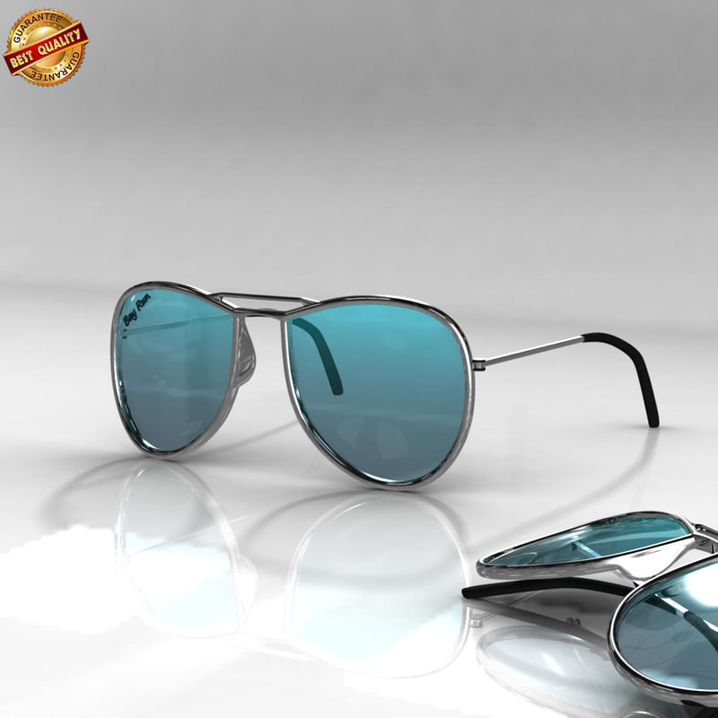 sun glasses 3d obj