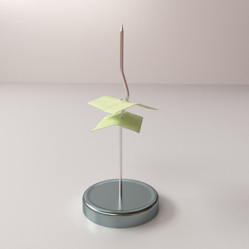 3d model spike spindle