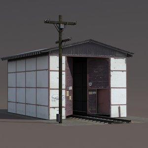 train building exterior ed