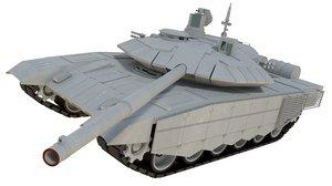 3d model t90 ms battle tank