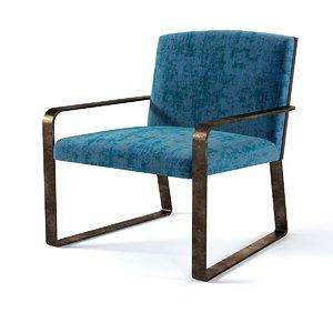 3d baker ironage chair model