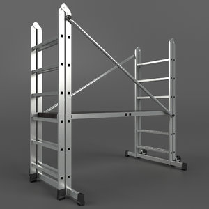 scaffold tower 3d model