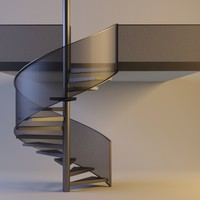 max metal circular staircase