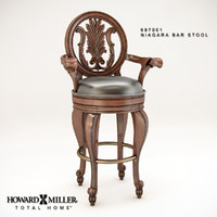 3d howard niagara bar stool model