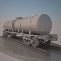 Train Cistern Car