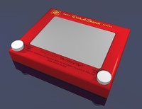 classic etch sketch 3d model