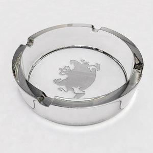 3d glass ashtray model