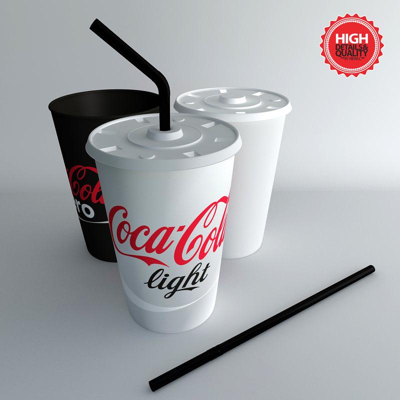 3d tumblers straw