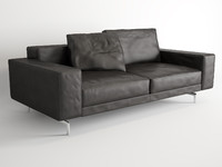 3d model minotti sherman sofa