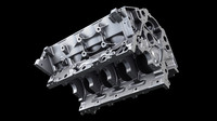 LS7 7.0 L V8 Engine Block