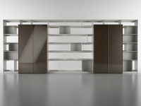 3d b bookcase 7 -