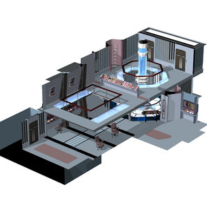 starship room engineering 3 3d pz3